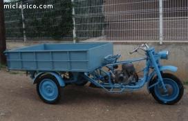 Motocarro triciclo
