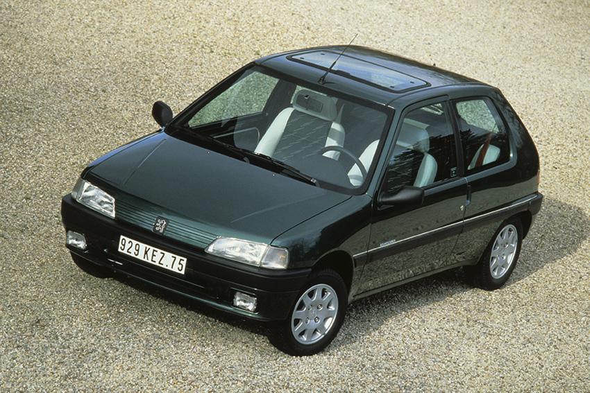 El Peugeot 106 celebra su 30 aniversario