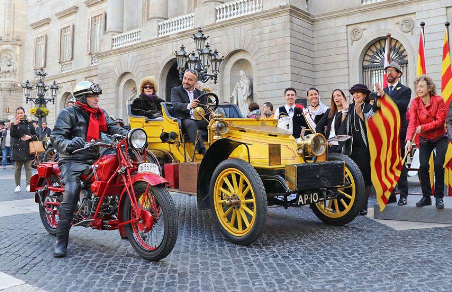 El tiempo se detuvo en el 60 Rally de Coches de Época Barcelona-Sitges