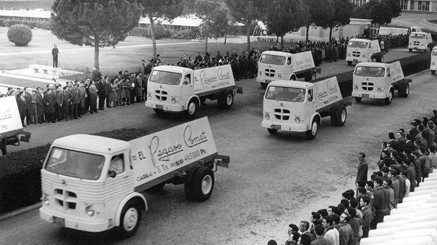 IVECO celebra el 75 aniversario de Pegaso a través de sus hitos