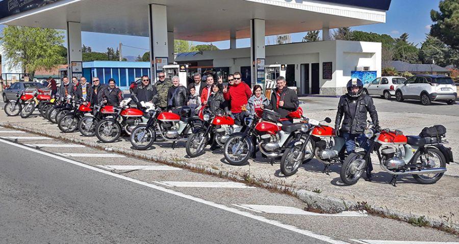 Ruta de amigos Impaleros por Madrid y Ávila