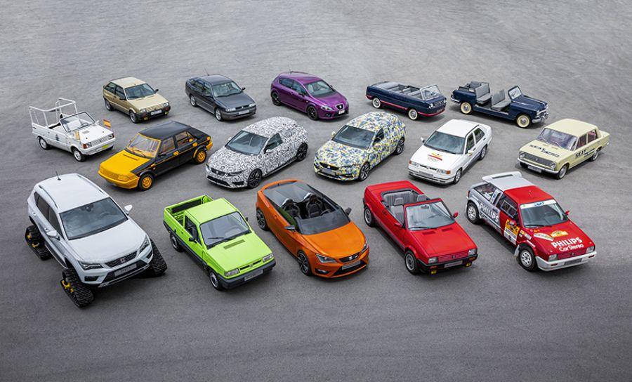SEAT: 16 coches especiales