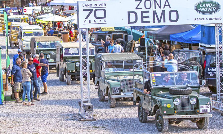 Land Rover Party: 70 Aniversario