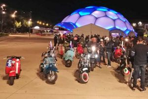 Primer Scooter Run del Vespa Club Valladolid