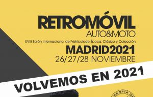 Retromóvil Madrid se aplaza a 2021