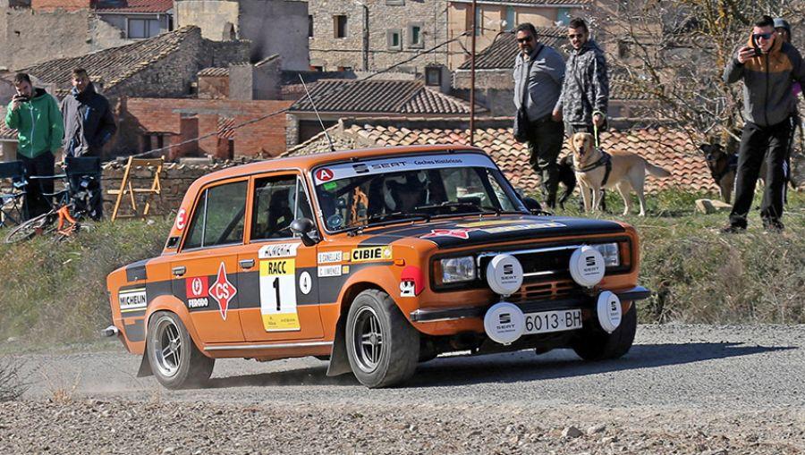 III Rally Catalunya Històric-Rally Les Caves, Salvador Cañellas y Seat vuelven a ganar 46 años después