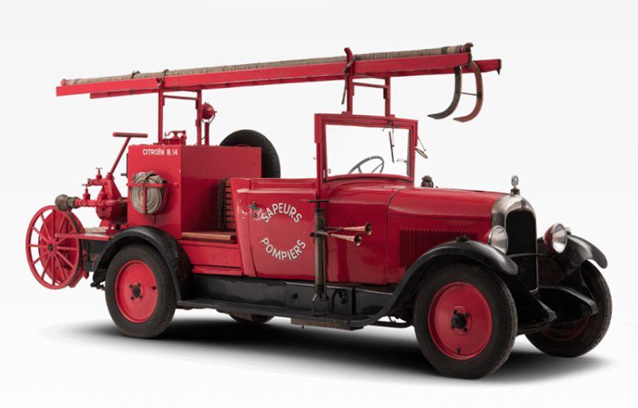 Cuando Citroen fabricaba camiones de Bomberos