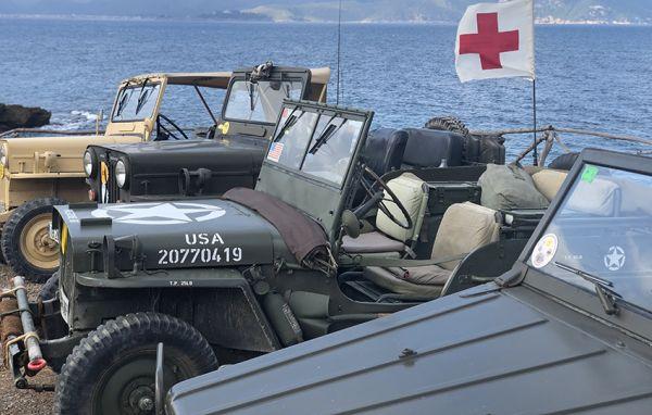 35 Vehículos Militares en el XIII Encuentro de Formentor