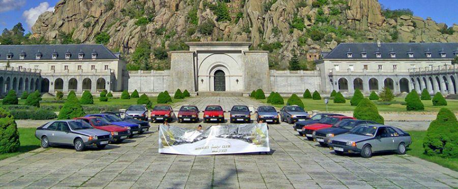 El Aniversario del Renault Fuego Club reúne a 20 modelos