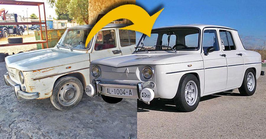 El Renault 8 de Alfredo: trabajo que se disfruta