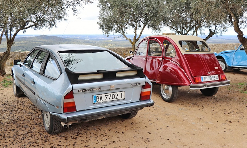 El 2CV Club Badajoz sale al Alentejo Central